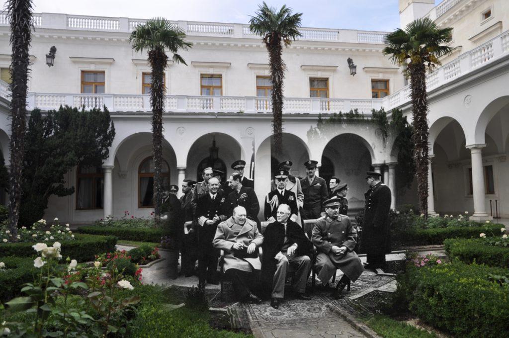 ливадийский дворец в крыму история